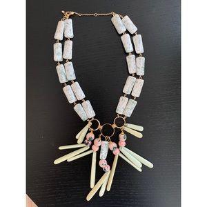 Anthropologie Ceramic Necklace